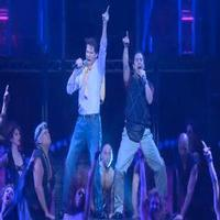STAGE TUBE: Watch Matthew Saldivar and Joey Taranto Rock Hard in BROADWAY BARES Opening Number!