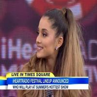 VIDEO: Ariana Grande & Ryan Seacrest Share Big Announcement on GMA