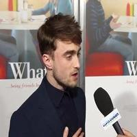 VIDEO: Daniel Radcliffe Talks New Romantic Comedy WHAT IF on Red Carpet