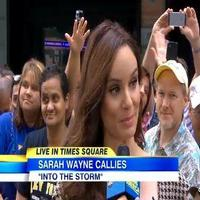 VIDEO: Actress Sarah Wayne Talks New Thriller 'Into the Storm' on GMA