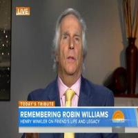 VIDEO: Henry Winkler Remembers Robin Williams: 'You Were in the Presence of Greatness'
