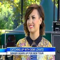 VIDEO: Demi Lovato Talks Tour with Christina Perri & More on GMA
