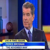 VIDEO: Pierce Brosnan Talks New Film 'The November Man' on GMA