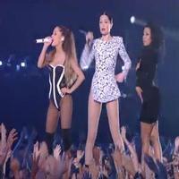 STAGE TUBE: Jessie J, Nicki Minaj, and Ariana Grande Team Up for Big Opening at the VMAs!