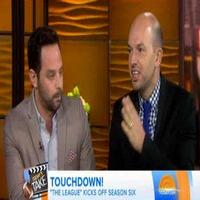 VIDEO: THE LEAGUE's Nick Kroll & Paul Sheer Talk Season 6 on 'Today'