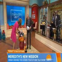 VIDEO: Go Behind-the-Scenes of THE MEREDITH VIEIRA SHOW, Premiering Today!