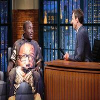 VIDEO: Comedian Hannibal Explains Unusual Wardrobe on LATE NIGHT
