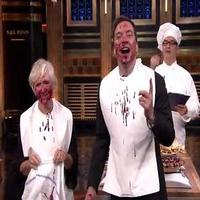 STAGE TUBE: Watch Glenn Close Stuff Her Face on THE TONIGHT SHOW