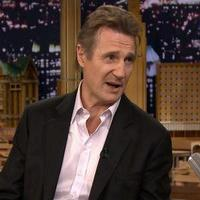 VIDEO: Liam Neeson Talks New Film 'A Walk Among the Tombstones' on TONIGHT SHOW