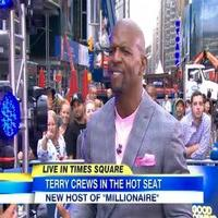 VIDEO: Terry Crews Talks Hosting New Season of WHO WANTS TO BE A MILLIONAIRE