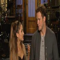 VIDEO: Ariana Grande & Chris Pratt Exchange Jabs in SNL Promos!