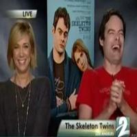 STAGE TUBE: Reporter Fails Interview with Kristen Wiig and Bill Hader of SKELETON TWINS