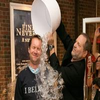 BWW TV: Watch Harvey Weinstein Dump a Bucket of Ice on Michael Riedel at FINDING NEVERLAND