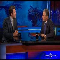 VIDEO: Ben Affleck Scolds Jon Stewart for Ruining 'Gone Girl' & 'Batman' Plots: 'Are You Kidding Me?'