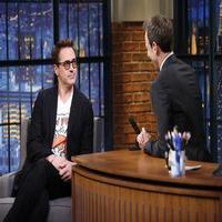 VIDEO: Robert Downey Jr. Talks New Film 'The Judge' on LATE NIGHT