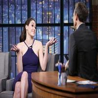 VIDEO: Emmy Rossum Talks New Film 'You're Not You' on LATE NIGHT