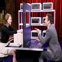 VIDEO: Emma Stone Talks CABARET, New Film 'Birdman' & More on TONIGHT