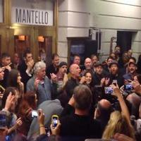VIDEO: Sting & Cast of THE LAST SHIP Serenade 'Jersey Boys' Neighbors Just Prior to Opening