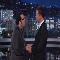 VIDEO: Josh Gad Sings to JIMMY KIMMEL 'Do You Want to Be a Snowman' for Halloween?
