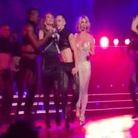 VIDEO: Kathy Griffin Joins Britney Spears on Stage for Vegas 'Freakshow' Performance