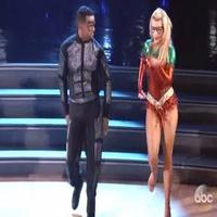 VIDEO: Alfonso Ribeiro Swoops Onto Dance Floor for Batman & Robin-Themed Cha-Cha on DWTS