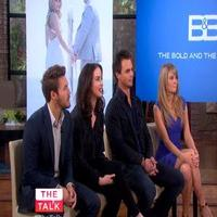 VIDEO: BOLD AND BEAUTIFUL Cast Chat Shooting Show in Amsterdam on 'The Talk'