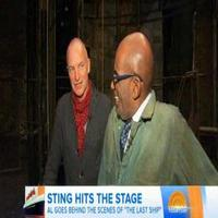 VIDEO: Sting Takes 'Today's Al Roker Behind-the-Scenes of THE LAST SHIP
