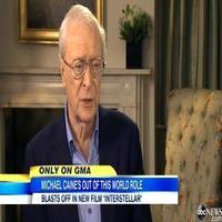VIDEO: Michael Caine Talks Sci-fi Thriller INTERSTELLAR on GMA