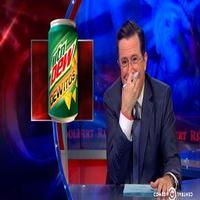 VIDEO: Rare Moment - Stephen Breaks Character Over New 'Dewitos' Product on COLBERT!