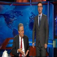 VIDEO: John Oliver Returns to THE DAILY SHOW to Interview 'Guest' Jon Stewart
