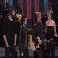 VIDEO: HUNGER GAMES Stars Join SNL Host Woody Harrelson in Taylor Swift Parody