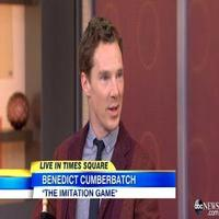 VIDEO: Benedict Cumberbatch Talks New Film, Recent Engagement on GMA