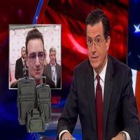VIDEO: Stephen Reveals Contents of Bono's Missing Luggage on COLBERT