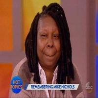 VIDEO: THE VIEW's Whoopi Goldberg Breaks Down Announcing News of Mike Nichols Passing