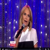 VIDEO: Kristin Chenoweth Sings 'Somewhere Over the Rainbow' on THE TALK; Shows Off James Brown Moves on 'FERGUSON'