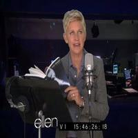 VIDEO: ELLEN Attempts to Record Steamy 50 SHADES OF GREY Audio Book!