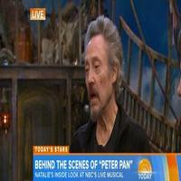 VIDEO: Christian Borle, Christopher Walken Talk PETER PAN LIVE on Today!