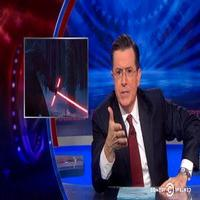 VIDEO: Stephen Addresses Star Wars Trailer Lightsaber Controversy on COLBERT