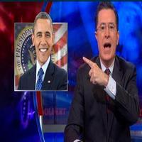 VIDEO: Stephen Announces Guest Appearance by President Obama on Next Week's COLBERT