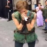 STAGE TUBE: Watch Allison Williams' Tearful Post-PETER PAN Reaction