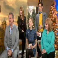 VIDEO: DOWNTON ABBEY Cast Talks New Season, George Clooney Cameo & More on 'Today'