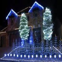 VIDEO: Family Creates FROZEN Holiday Lights Display Set to 'Let It Go'!