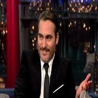 VIDEO: Joaquin Phoenix Announces Engagement on LETTERMAN!