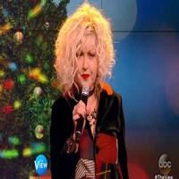 VIDEO: Cyndi Lauper Performs 'Rocking Around The Christmas Tree' on THE VIEW