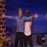 VIDEO: JB Smoove and Conan Dance Sensual Tango on CONAN