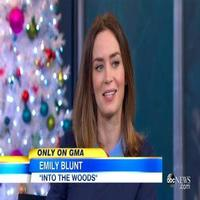 VIDEO: Emily Blunt Reveals She Did 'Craziest Vocal Exercises' to Prepare for INTO THE WOODS
