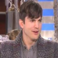 VIDEO: Ashton Kutcher Talks TWO AND A HALF MEN Finale on Ellen