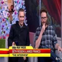 VIDEO: Seth Rogen, James Franco Discuss Controversial Roles in New Film THE INTERVIEW on GMA