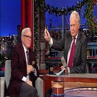 VIDEO: Tom Brokaw Reveals He Sleeps with Medal of Freedom on LETTERMAN