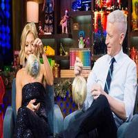 VIDEO: Kelly Ripa & Anderson Cooper Plead the Fifth on WATCH WHAT HAPPENS LIVE